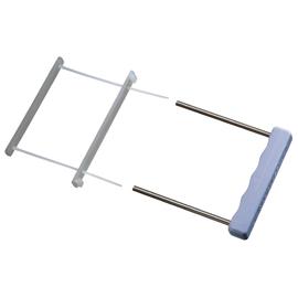 Archiv-Abheftbügel zweiteilig mit Deckschiene farblos PP Leitz 6078-00-03 (PACK=50 STÜCK) Produktbild