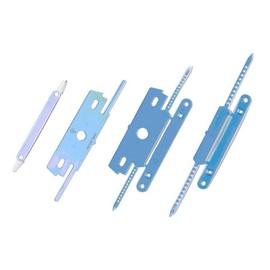 Einhänge-Heftstreifen 80mm für 20Blatt weiß Kunststoff Laurel 183010 (PACK=100 STÜCK) Produktbild