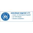 Einhänge-Heftrücken mit Heftfalz mit Kunststoff-Deckschiene 60x305mm blau Karton Leitz 3726-00-35 (PACK=25 STÜCK) Produktbild Additional View 1 S