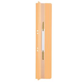 Einhänge-Heftrücken mit Heftfalz mit Kunststoff-Deckschiene 60x305mm chamois Karton Leitz 3726-00-11 (PACK=25 STÜCK) Produktbild