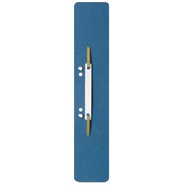 Einhänge-Heftstreifen lang mit Kunststoff-Deckschiene 60x305mm blau Karton Leitz 3700-00-35 (PACK=25 STÜCK) Produktbild