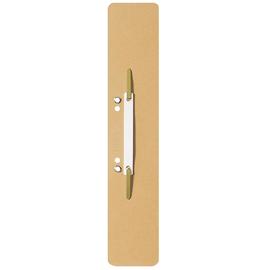 Einhänge-Heftstreifen lang mit Kunststoff-Deckschiene 60x305mm chamois Karton Leitz 3700-00-11 (PACK=25 STÜCK) Produktbild