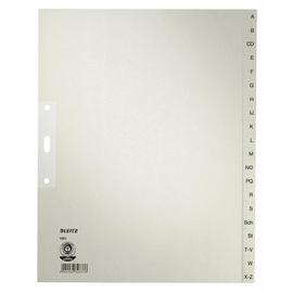 Register A-Z A4 überbreit 240x300mm grau Papier Leitz 1201-00-85 Produktbild