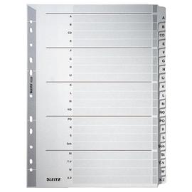 Register A-Z A4 225x297mm grau Karton Leitz 4328-00-00 Produktbild