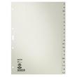 Register A-Z A4 225x300mm grau Papier Leitz 4300-00-85 Produktbild