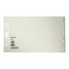 Register A-Z A5 quer überbreit 240x140mm grau Papier Leitz 1206-00-85 Produktbild