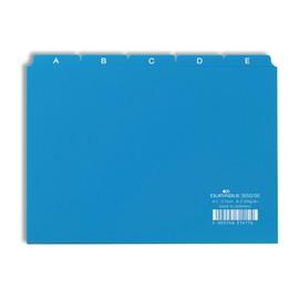 Leitregister A-Z 25-teilig A5quer blau PP Durable 3650-06 Produktbild