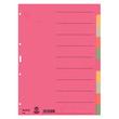 Register Blanko A4 225x300mm 10-teilig vollfarbig Karton Leitz 4359-00-00 Produktbild