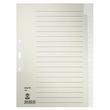 Register Blanko A4 223x300mm 20-teilig grau Papier Leitz 6096-00-85 Produktbild