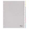 Register A4 überbreit mit Taben 245x297mm 1-10 transparent Plastik Durable 6831-19 Produktbild