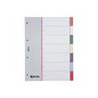 Register Blanko A4 226x297mm 7-teilig mehrfarbig Plastik Rexel 252474 Produktbild