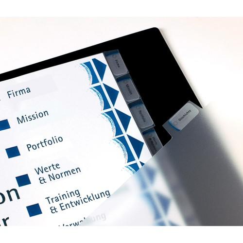 Register Inkjet+Laser+Kopier bedruckbar Blanko A4 10-teilig weiß Zweckform 1812061 Produktbild Additional View 1 L