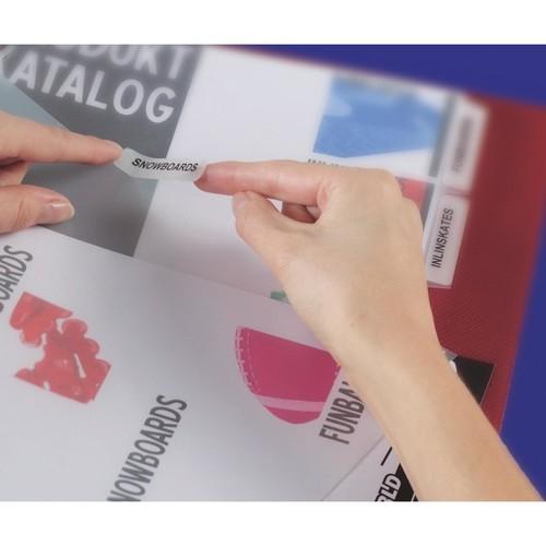 Register Inkjet+Laser+Kopier bedruckbar Blanko A4 10-teilig weiß Zweckform 1812061 Produktbild Additional View 2 L