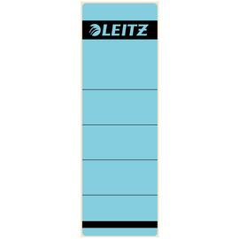 Rückenschilder für Handbeschriftung 61,5x191mm kurz breit blau selbstklebend Leitz 1642-00-35 (BTL=10 STÜCK) Produktbild