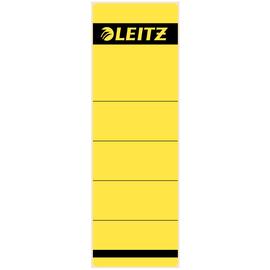 Rückenschilder für Handbeschriftung 61,5x191mm kurz breit gelb selbstklebend Leitz 1642-00-15 (BTL=10 STÜCK) Produktbild