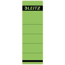 Rückenschilder für Handbeschriftung 61,5x191mm kurz breit grün selbstklebend Leitz 1642-00-55 (BTL=10 STÜCK) Produktbild