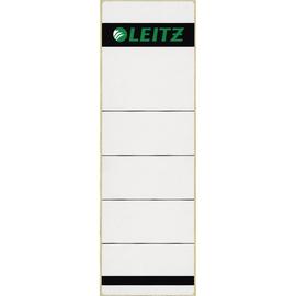 Rückenschilder für Handbeschriftung 61,5x191mm kurz breit hellgrau selbstklebend Leitz 1642-00-85 (BTL=10 STÜCK) Produktbild
