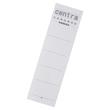 Rückenschilder für Handbeschriftung 54x90mm kurz breit weiß zum Stecken Centra 290105 (BTL=10 STÜCK) Produktbild
