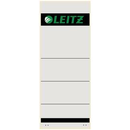 Rückenschilder für Handbeschriftung 61x157mm kurz breit grau selbstklebend Leitz 1647-00-85 (BTL=10 STÜCK) Produktbild