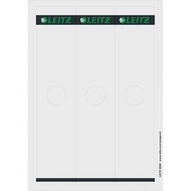 Rückenschilder für Hängeordner zum Bedrucken 61x279mm lang breit grau selbstklebend Leitz 6098-00-85 (PACK=75 STÜCK) Produktbild