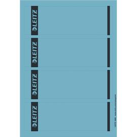 Rückenschilder zum Bedrucken 61x192mm kurz breit blau selbstklebend Leitz 1685-20-35 (PACK=100 STÜCK) Produktbild
