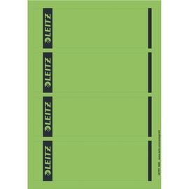 Rückenschilder zum Bedrucken 61x192mm kurz breit grün selbstklebend Leitz 1685-20-55 (PACK=100 STÜCK) Produktbild
