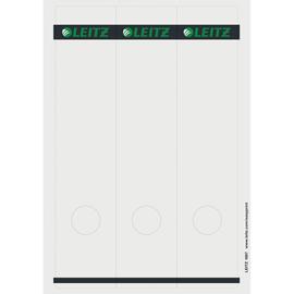 Rückenschilder zum Bedrucken 61x285mm lang breit grau selbstklebend Leitz 1687-00-85 (PACK=75 STÜCK) Produktbild