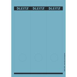 Rückenschilder zum Bedrucken 61x285mm lang breit blau selbstklebend Leitz 1687-00-35 (PACK=75 STÜCK) Produktbild