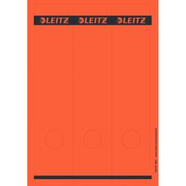 Rückenschilder zum Bedrucken 61x285mm lang breit rot selbstklebend Leitz 1687-00-25 (PACK=75 STÜCK) Produktbild