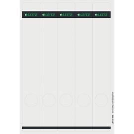 Rückenschilder zum Bedrucken 39x285mm lang schmal grau selbstklebend Leitz 1688-00-85 (PACK=125 STÜCK) Produktbild