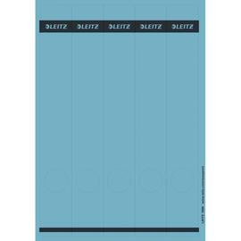 Rückenschilder zum Bedrucken 39x285mm lang schmal blau selbstklebend Leitz 1688-00-35 (PACK=125 STÜCK) Produktbild