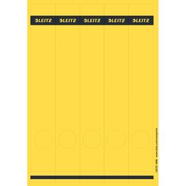 Rückenschilder zum Bedrucken 39x285mm lang schmal gelb selbstklebend Leitz 1688-00-15 (PACK=125 STÜCK) Produktbild
