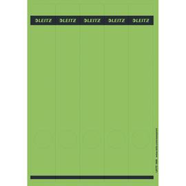 Rückenschilder zum Bedrucken 39x285mm lang schmal grün selbstklebend Leitz 1688-00-55 (PACK=125 STÜCK) Produktbild