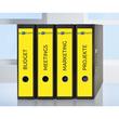 Rückenschilder zum Bedrucken 61x297mm lang breit auf A4 Bögen gelb selbstklebend Zweckform L4755-20 (PACK=60 STÜCK) Produktbild Additional View 8 S