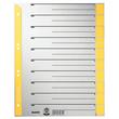 Trennblätter mit abschneidbaren Taben A4 238x300mm gelb teilfarbig Karton Leitz 1652-30-15 (PACK=25 STÜCK) Produktbild