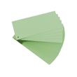 Trennstreifen gelocht 105x240mm grün vollfarbig recycling BestStandard (PACK=100 STÜCK) Produktbild