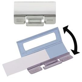Vollsichtreiter vertic für Hängemappen 58x20mm transparent Elba 100552070 (PACK=25 STÜCK) Produktbild