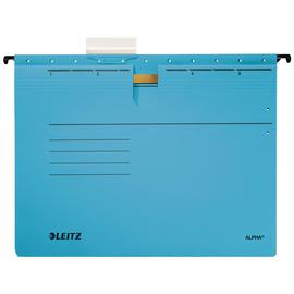 Hängehefter ALPHA kaufmännische Heftung blau Leitz 1984-30-35 (PACK=5 STÜCK) Produktbild