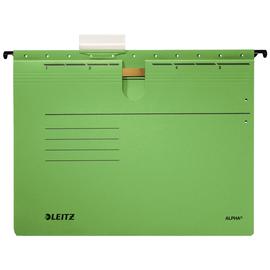 Hängehefter ALPHA kaufmännische Heftung grün Leitz 1984-30-55 (PACK=5 STÜCK) Produktbild