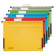 Hängetaschen ALPHA seitliche Frösche für ungelochte Unterlagen gelb Leitz 1986-30-15 (PACK=5 STÜCK) Produktbild Additional View 1 S