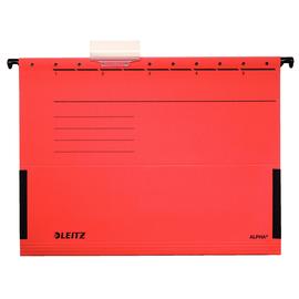 Hängetaschen ALPHA seitliche Frösche für ungelochte Unterlagen rot Leitz 1986-30-25 (PACK=5 STÜCK) Produktbild