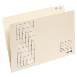 Einfach-Einstellmappen vertikal A4 chamois Leitz 2433-00-11 (PACK=100 STÜCK) Produktbild
