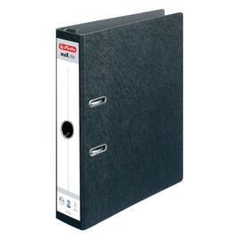 Hängeordner maX.file A4 70mm schwarz Pappe Herlitz 10842284 Produktbild