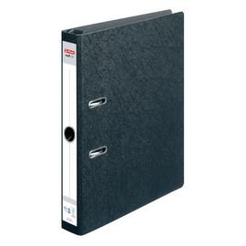 Hängeordner S50 A4 50mm schwarz Pappe Herlitz 10842292 Produktbild