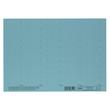 Blanko-Schildchen für Hängemappen 58x18mm blau Elba 100552045 (BG=50 STÜCK) Produktbild