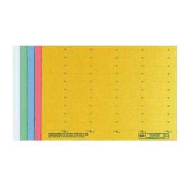 Blanko-Schildchen für Hängemappen 58x18mm gelb Elba 100555643 (BG=50 STÜCK) Produktbild