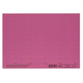 Blanko-Schildchen für Hängemappen 58x18mm rot Elba 100552048 (BG=50 STÜCK) Produktbild