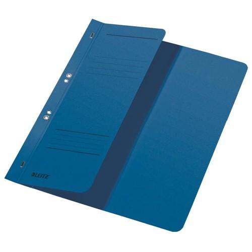 Ösenhefter 1/2 Vorderdeckel kaufmännische Heftung 238x305mm für 170Blatt blau Karton Leitz 3740-00-35 Produktbild Front View L