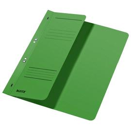 Ösenhefter 1/2 Vorderdeckel kaufmännische Heftung 238x305mm für 170Blatt grün Karton Leitz 3740-00-55 Produktbild