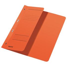 Ösenhefter 1/2 Vorderdeckel kaufmännische Heftung 238x305mm für 170Blatt orange Karton Leitz 3740-00-45 Produktbild